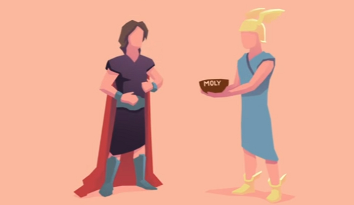odysseus a hero with strengths and weaknesses Odysseus and penelope by  she announces in her long interview with the disguised hero that whoever can string odysseus's rigid bow and shoot an arrow.